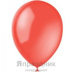"M 9""/23см Декоратор BRITE RED 050 100шт шар латекс"