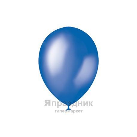 "M 12""/30см Металлик BLUE 022 100шт шар латекс"