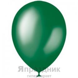 "M 12""/30см Металлик GREEN 028 100шт шар латекс"