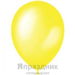 "M 12""/30см Металлик YELLOW 021 100шт шар латекс"