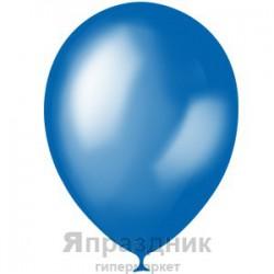 "M 5""/13см Металлик BLUE 022 100шт шар латекс"