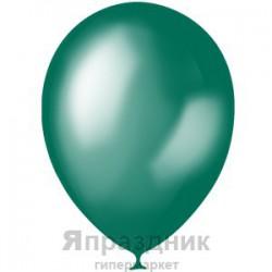 "M 5""/13см Металлик GREEN TEAL 029 100шт шар латекс"