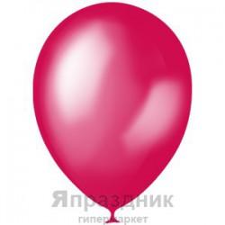 "M 5""/13см Металлик PINK 027 100шт шар латекс"