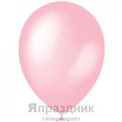 "M 12""/30см Перламутр PINK 073 100шт шар латекс"