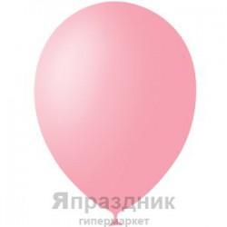 """M 12""""/30см Пастель PINK 007 100шт шар латекс"""