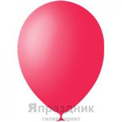 "M 5""/13см Пастель RED 006 100шт шар латекс"