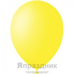 "M 5""/13см Пастель YELLOW 001 100шт шар латекс"