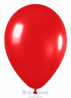 S Метал 9 Красный / Red / 100 шт. / (Колумбия)