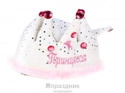 Карнавал шляпа Принцесса 23x19см
