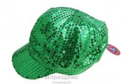 Фуражка блеск зеленая