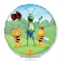 Шар Круг Пчелка и друзья 48см