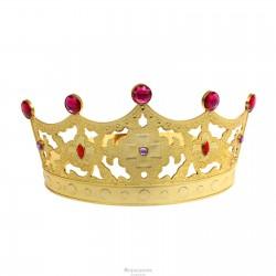 """Корона с камнями """"Царица"""" золото 1089307"""