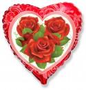 Розы эксклюзивный рисунок 48см