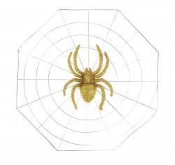 прикол паутина большой паук 28*28 328174