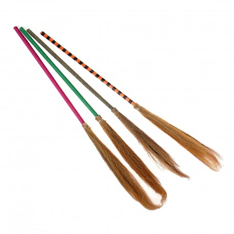 метла бабы яги цветная ручка100 см 322320