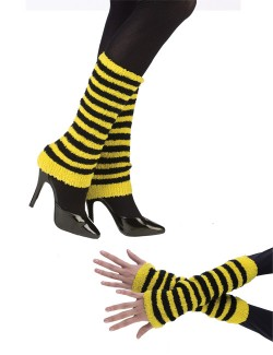 Черно-желтые гетры АК-587 90125 Размер: Без размера