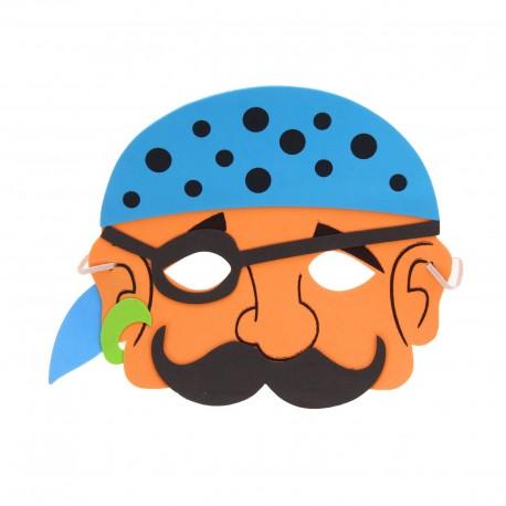 """Карнавальная маска """"Пират"""" в бандане 1146049"""