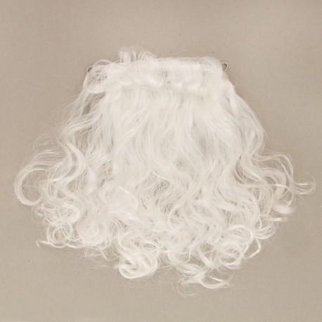 """Карнавальная борода """"Дед мороз"""" на резинке 50 грамм, 38 см 1115983"""