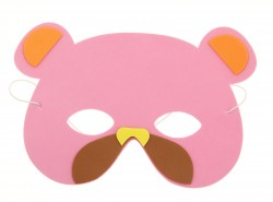 карнавал маска мишка 730908