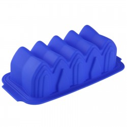 Форма для выпечки из силикона Гармошка 30*14 см микс 651945