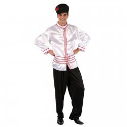 """Карнавальный костюм для взрослых """"Русский Хлопчик """", 3 предмета: рубашка, брюки, шапка, размер XL 48"""