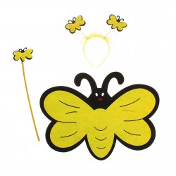 """Карнавальный набор """"Бабочка"""" 3 предмета: крылья, ободок, жезл 1116444"""
