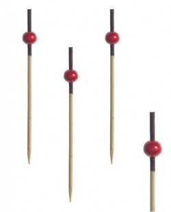"""Пика """"Красная жемчужина"""" бамб.7см (20шт)"""