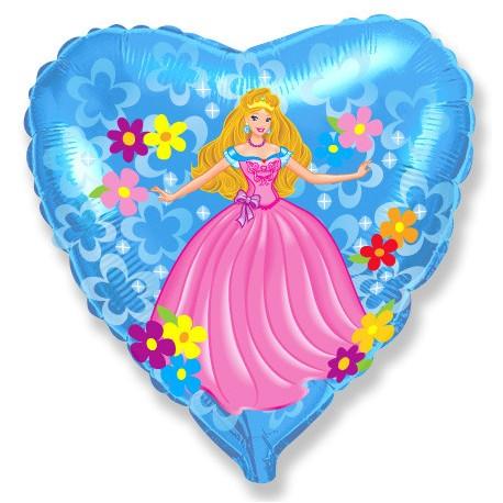 И 18 Сердце Принцесса / Princess / 1 шт / (Испания)