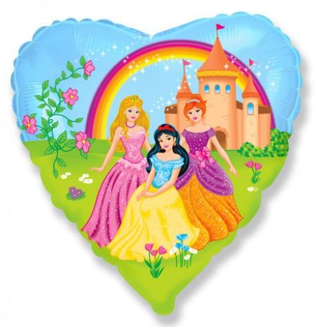 И 18 Сердце Замок принцессы / Princess Castle / 1 шт / (Испания)