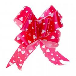 Бант-бабочка №3 рисунок сердца на красном 817920