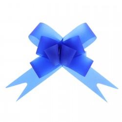Бант-бабочка №1,8 простой синий 857492