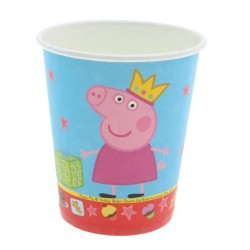 "Набор бумажных стаканов ""Пеппа-принцесса"" 210 мл (набор 6 шт.) 28554 1298787"