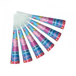 """Набор бумажных дудочек """"Пеппа-принцесса"""" (набор 6 шт.) 28557 1298772"""