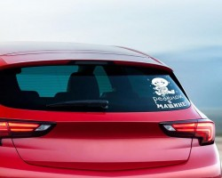 "Наклейка на авто ""Ребенок в машине"", 18 х 12 см 1206633"