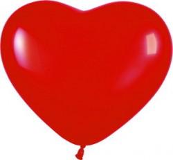 S Сердца 6 Красный / Red / 100 шт. / (Колумбия)