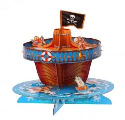 Подставка для пирожных двухярусная Гроза морей 30×30см