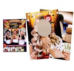 """Набор фотобутофории для проведения праздника """"Мафия"""", 3шт., 33 х 47 см 1096797"""