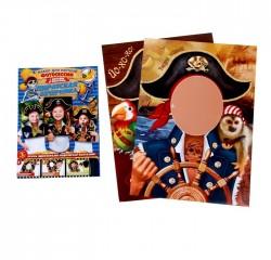 """Набор для фотосессии и проведения праздника """"Пираты"""", 3шт., 33 х 47 см 1096795"""