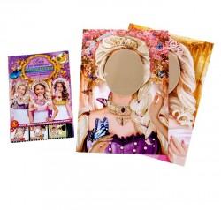 """Набор фотобутофории для проведения праздника """"Принцессы"""", 3шт., 33 х 47 см 1096794"""