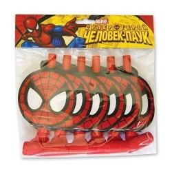 Язычок-гудок Marvel Человек-Паук 6шт
