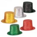 Шляпа пластиковая блесящая 13см