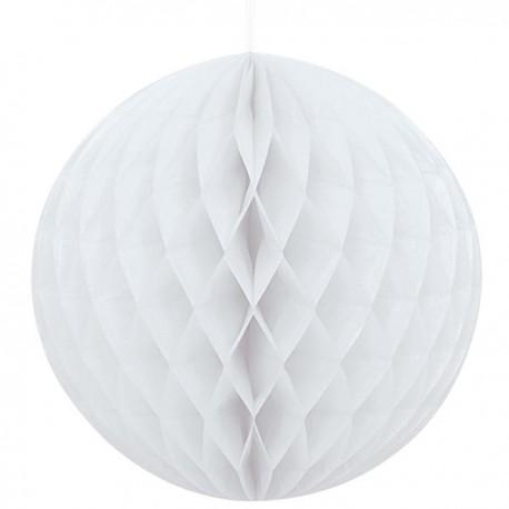 Шар бумажный белый 3 0см/А (048419966012)