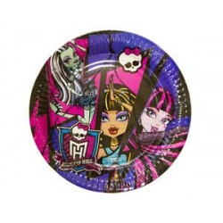 Тарелка Monster High 17см 8шт/A (4009775479048)