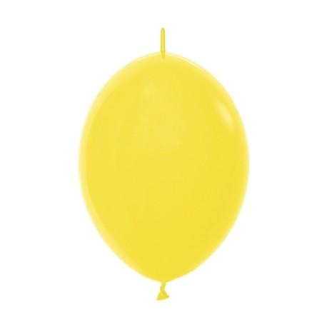 S Линколун Пастель 12 Желтый / Yellow / 100 шт. / (Колумбия)