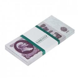 Пачка купюр СССР 25 рублей