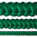 Гирлянда зеленая Декор 360см