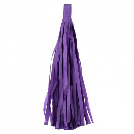 Помпон Кисточка 5 листов фиолетовый