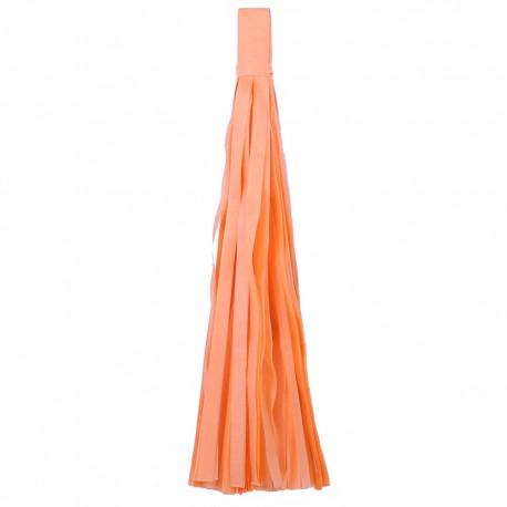 Помпон Кисточка 5 листов светло-оранжевый