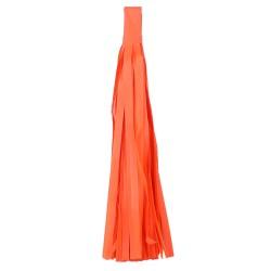"Помпон ""Кисточка"" 35 х 25 см 5 листов оранжевый"