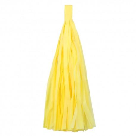 Помпон Кисточка 5 листов желтый
